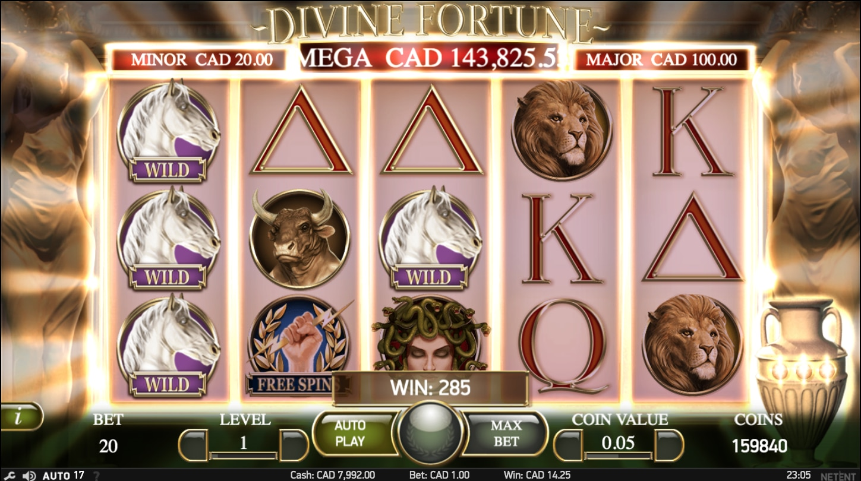 Divine fortune online slot real money