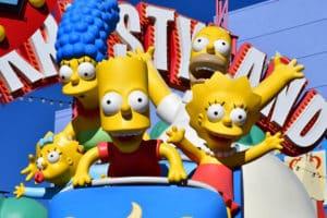 The Simpsons gambling image