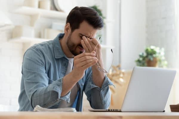 eye fatigue image