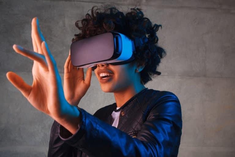 virtual augmented reality image