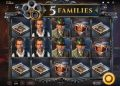 5 Families Menu Screen