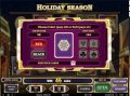 Holiday Season gamble Feature Win